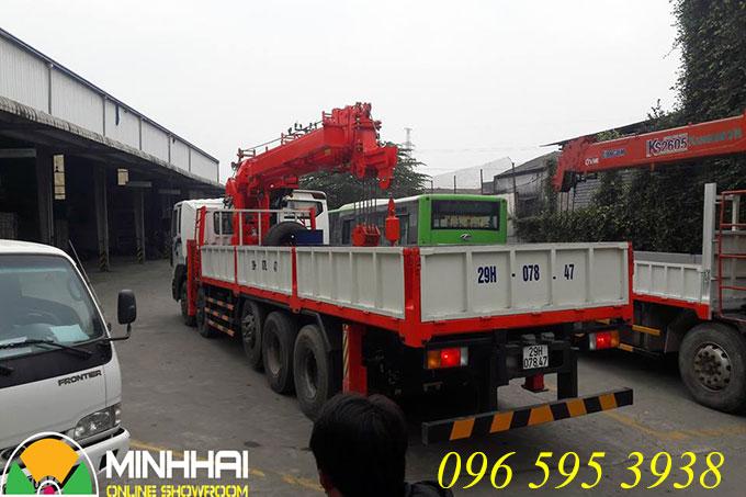 hyundai 5 chân gắn cẩu 15 tấn kanglim ks5206