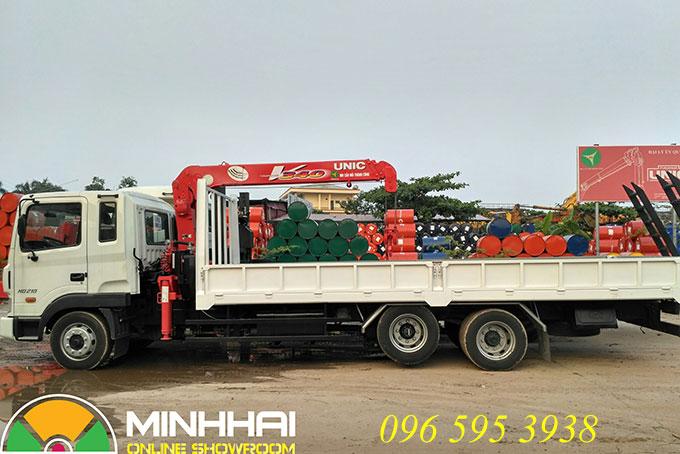 xe cẩu hyundai 3 tấn