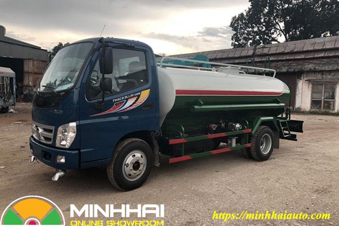 xe nước rửa đường tưới cây ollin 500b