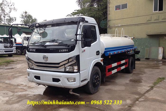 xe phun nước rửa đường 5 khối dongfeng