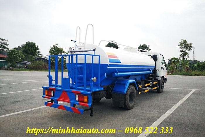 xe rửa đường tưới cây hyundai hd800