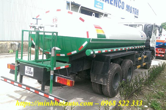 xe rửa đường tưới cây dongfeng 12 khối