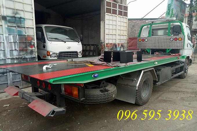 xe cứu hộ kéo chở xe hyundai 110s