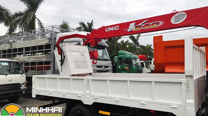 xe tải hino 5 tấn gắn cẩu unic 3 tấn