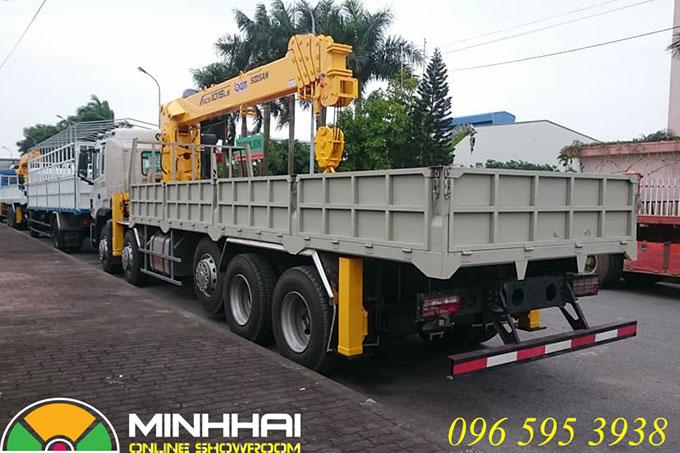 xe tải jac gắn cẩu 12 tấn soosan scs1015ls