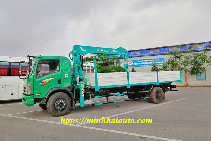 xe tải tmt cửu long gắn cẩu hktc 5 tấn