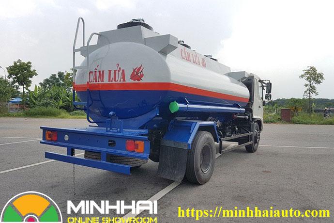 xe bồn chở xăng dầu hino fg