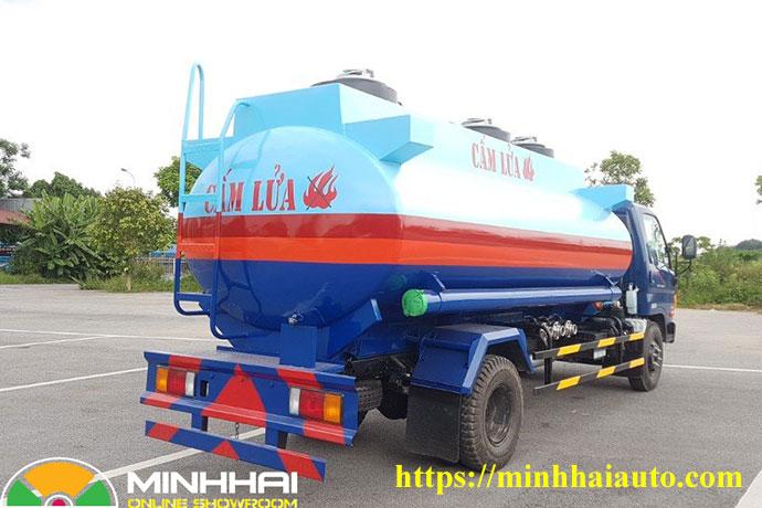 xe bồn chở xăng dầu hyundai 9 khối