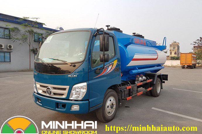 xe bồn chở xăng dầu ollin 500b