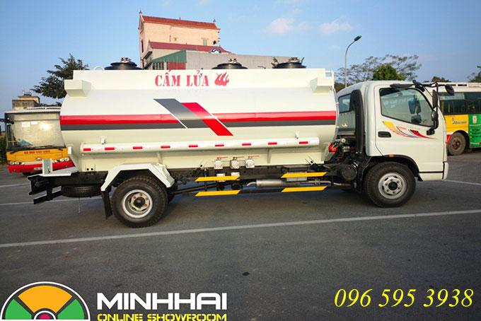 xe bồn chở xăng dầu ollin 700c