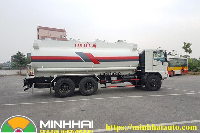 xe chở xăng dầu hino fm 19 khối