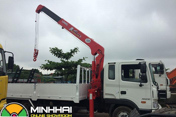 xe cẩu hyundai 12 tấn hd210