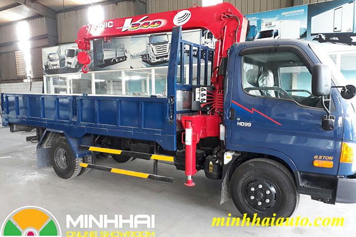 xe tải cẩu hyundai 5 tấn hd99