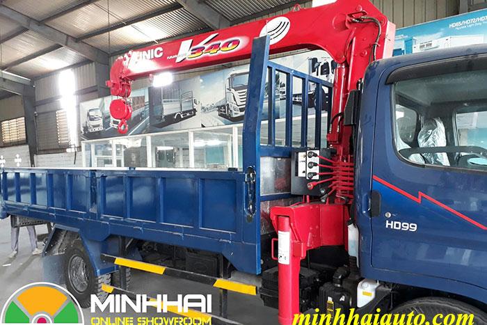 xe tải cẩu hyundai hd99