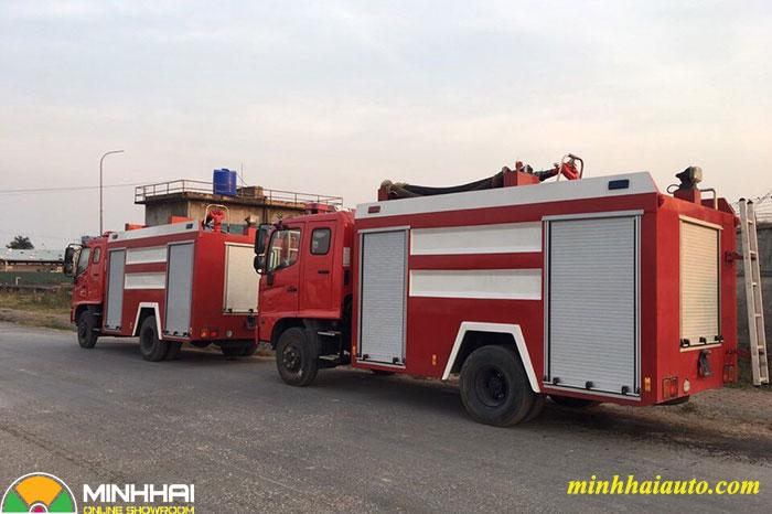 xe chữa cháy hino 3 khối