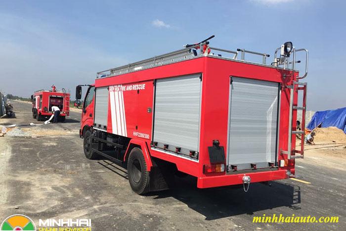 xe chữa cháy hino xzu342l