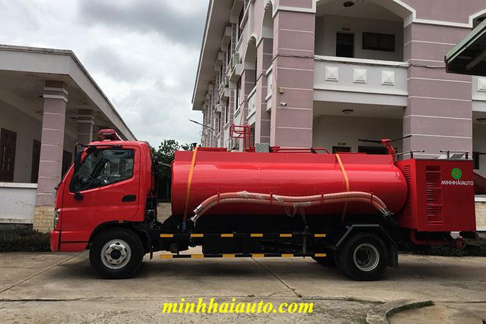 xe cứu hỏa chữa cháy ollin 700c