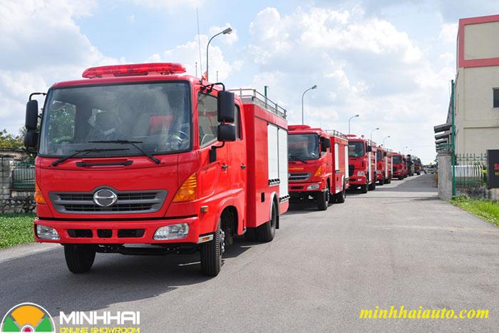 xe cứu hỏa hino 4 khối