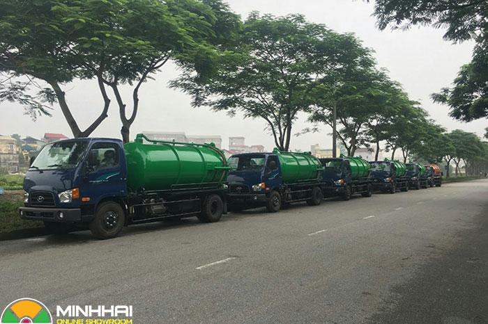 xe hút chất thải hyundai 110s