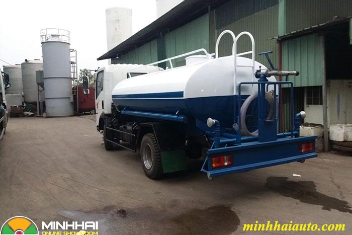 xe xi téc phun nước rửa đường howo 6 khối