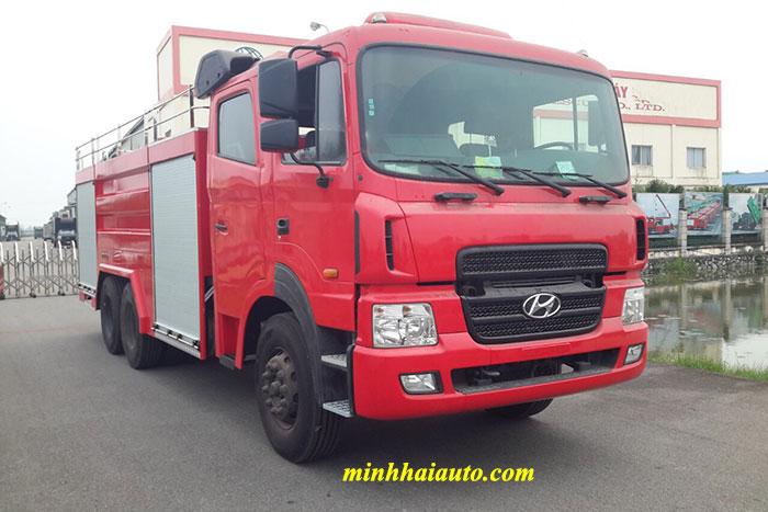 xe chữa cháy hyundai hd260