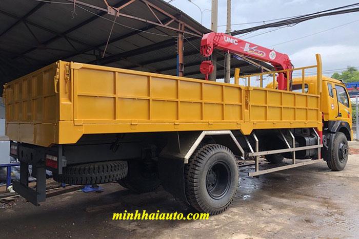 xe tải tmt 7.5 tấn gắn cẩu unic 3 tấn