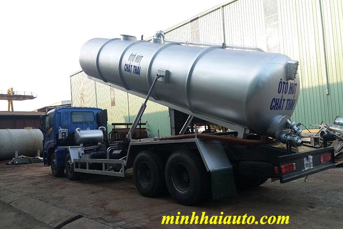 xe hút chất thải thaco auman c300b